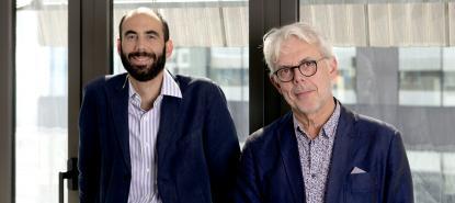 Jean-Marie Fournier et Charles-Edouard Levillain
