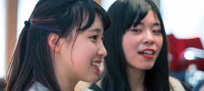 Etudiantes japonaises