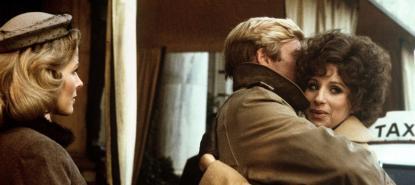 Robert Redford et Barbra Streisand dans le film Nos plus belles années de Sydney Pollack