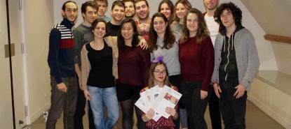 Les rédacteurs du nouveau journal étudiant de Paris Diderot L'Octopus