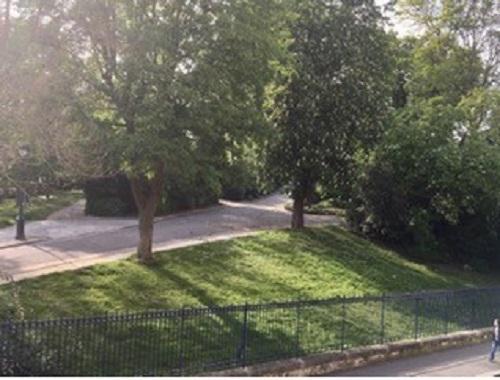 #AMAFENETRE Anne, Paris, Parc Montsouris, 20 avril