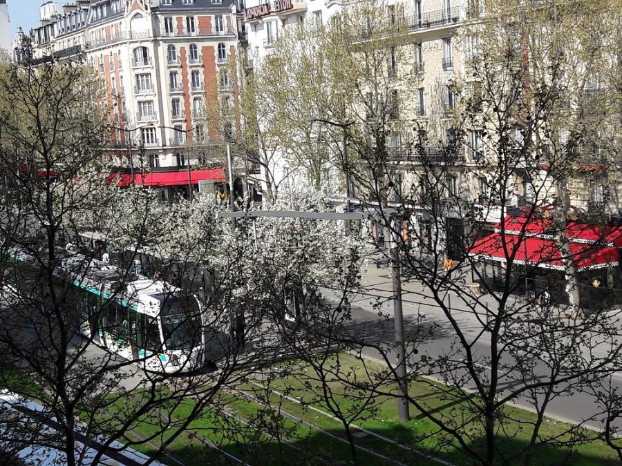 #AMAFENETRE Annie, Paris Porte d'Orléans, 8 avril