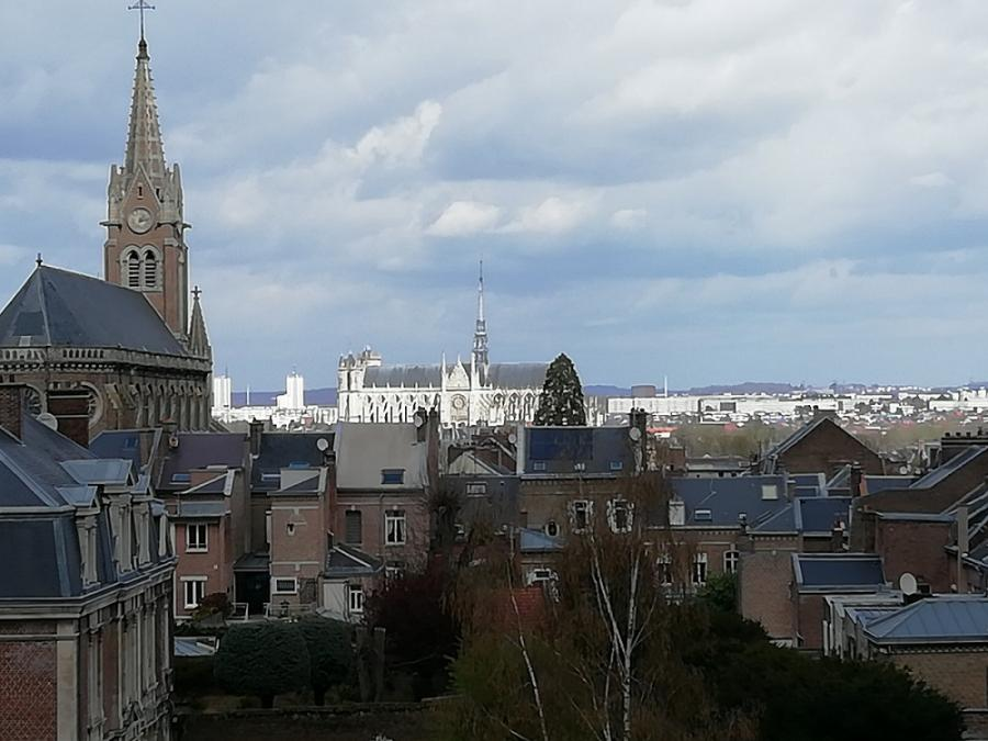 #AMAFENETRE Céline, la Cathédrale  d'Amiens, 3 avril