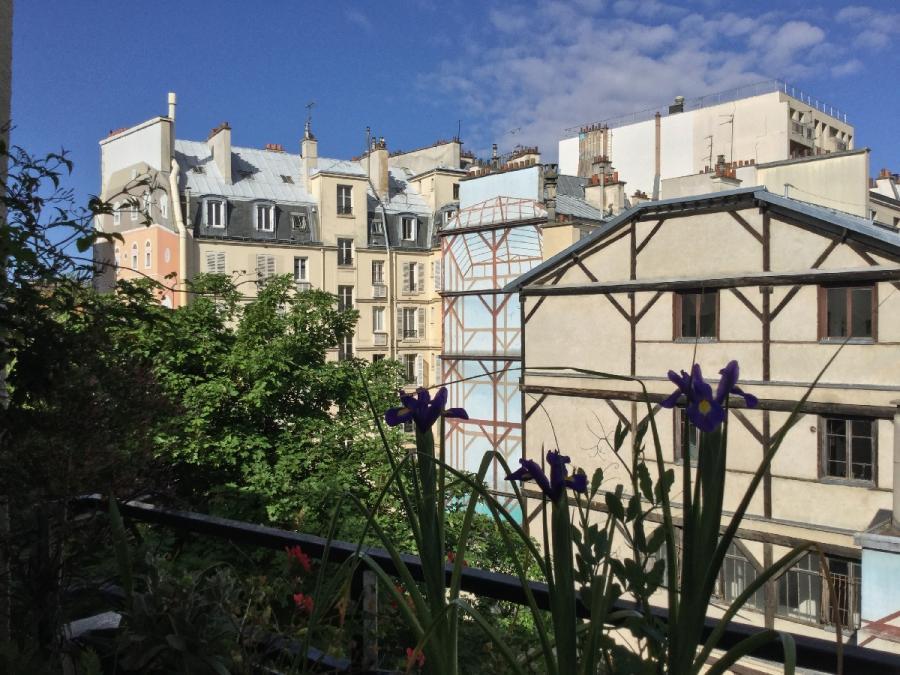 #AMAFENETRE Christiane, Paris 10e, 18 avril