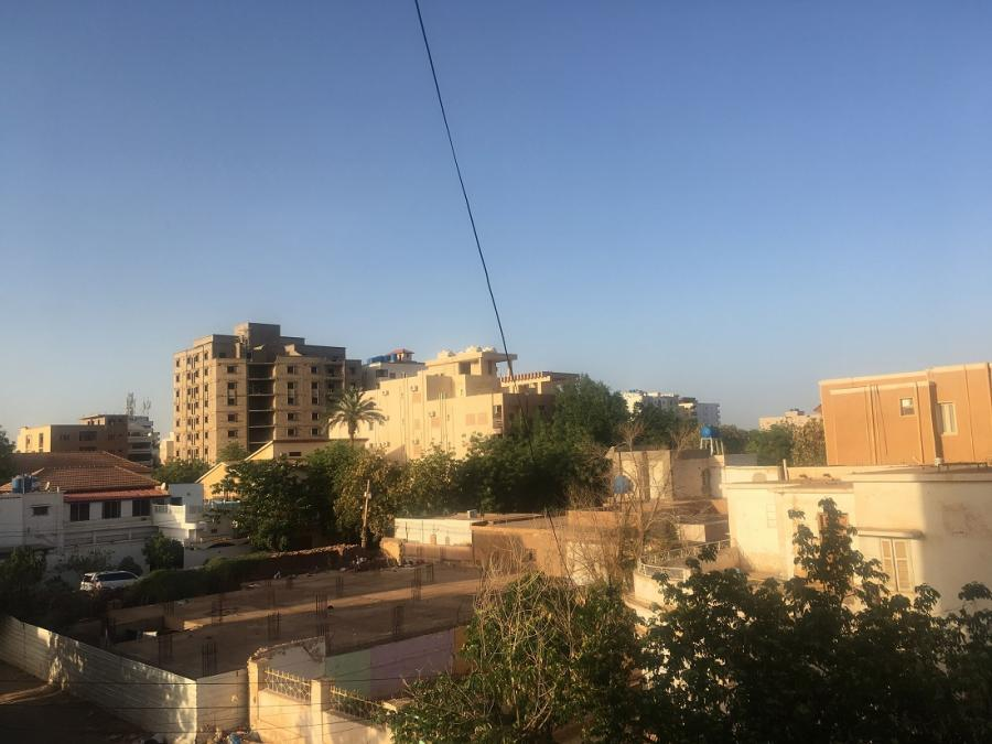 #AMAFENETRE  Corten, Khartoum (Liban), 31 mars