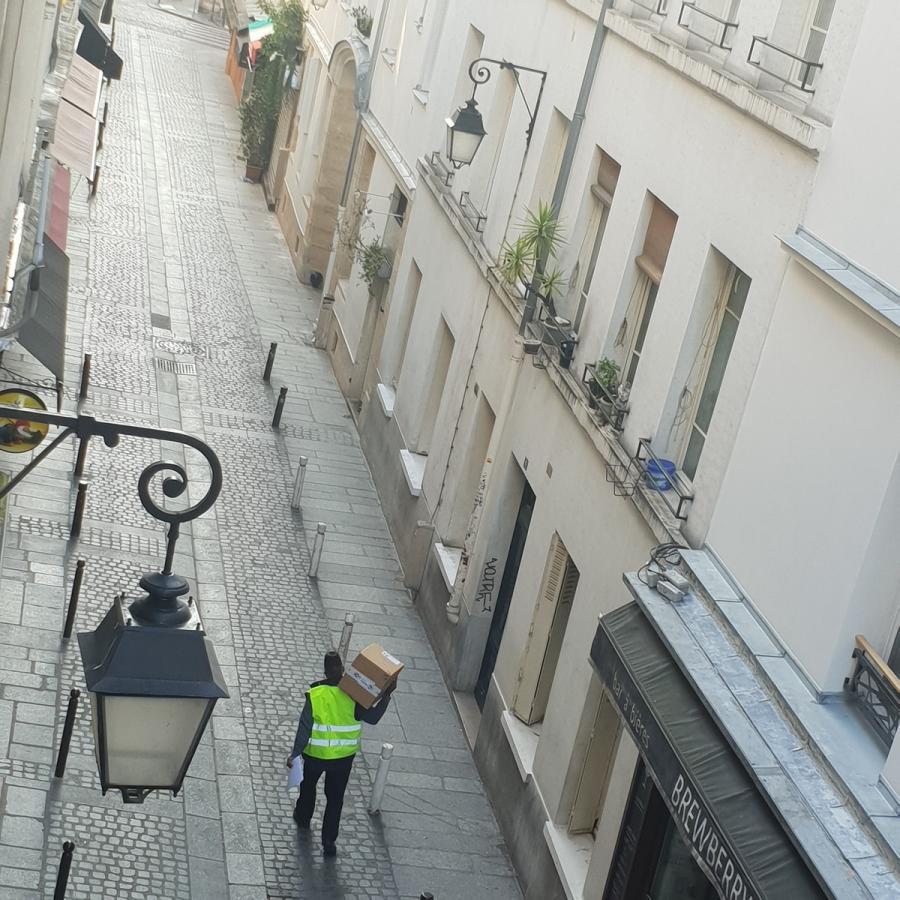 #AMAFENETRE Fred, Paris 5e, rue du pot de fer, 3 avril