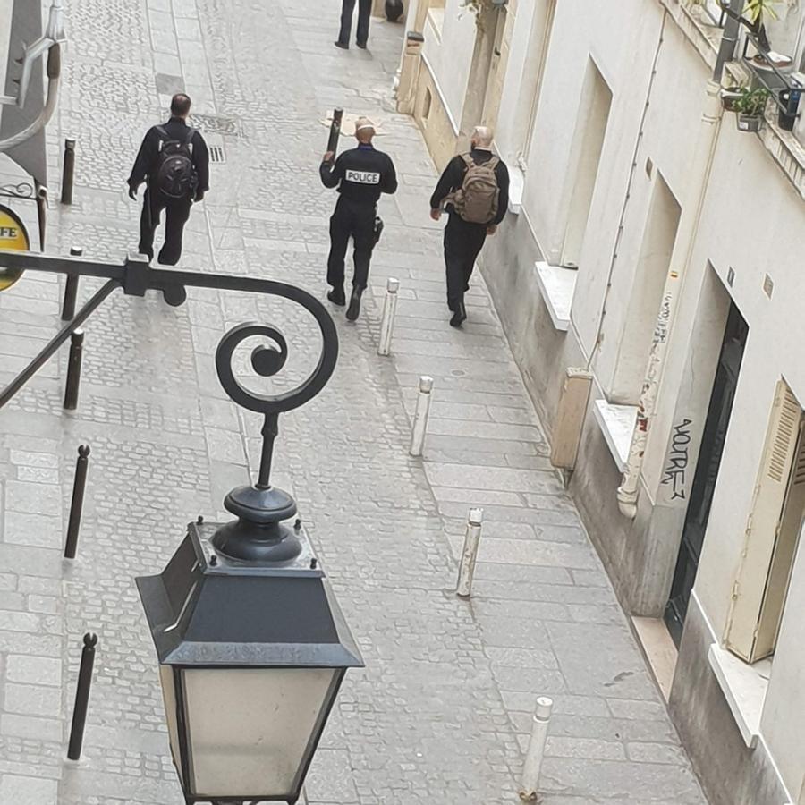 #AMAFENETRE Frédérique, Paris 5e, 6 avril