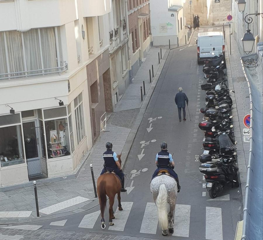 #AMAFENETRE Frédérique, Paris 5e, 9 avril