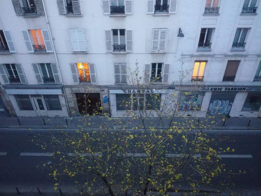 #AMAFENETRE Hala, Paris, 7 avril