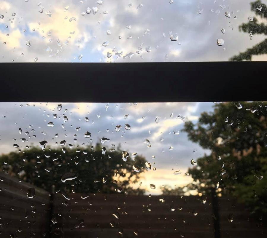 #AMAFENETRE Karine, Fontenay-sous-Bois, 30 avril après la pluie