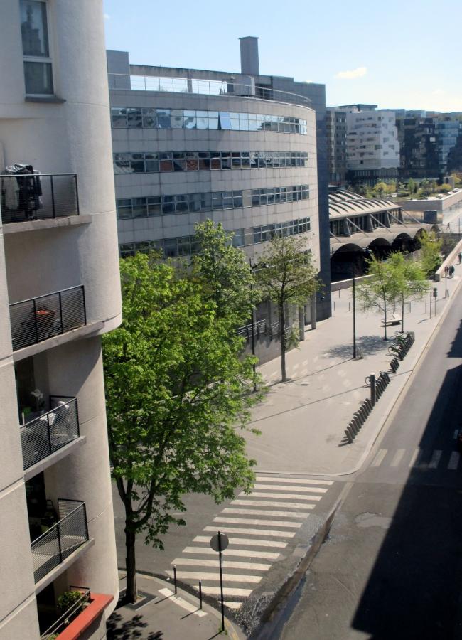 #AMAFENETRE Maguelonne, Paris 13e, rue du Chevaleret, 4 avril