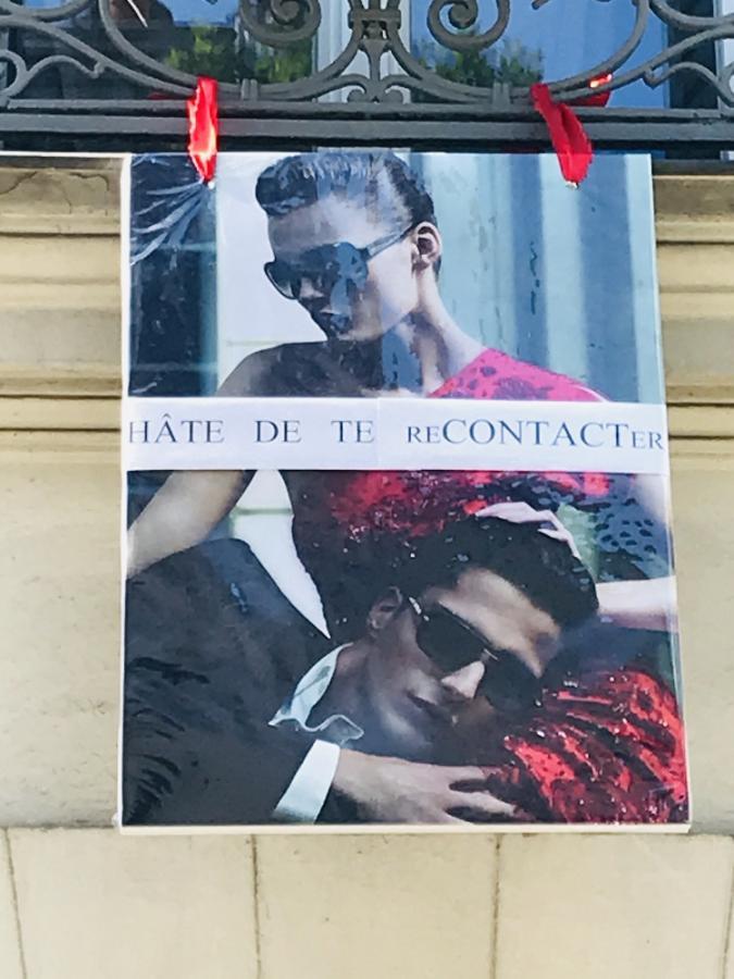 #AMAFENETRE Maria, Paris14e, 1er mai