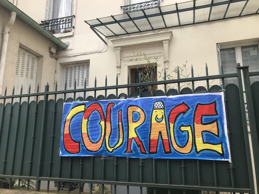 #AMAFENETRE Maria, Paris 14e, 24 mars