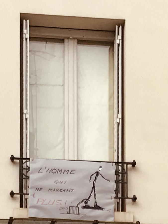 #AMAFENETRE Maria, Paris, 2 avril