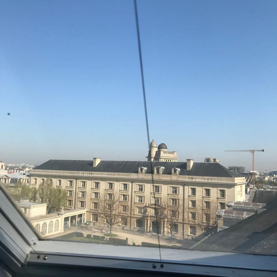#AMAFENETRE NN, Paris 5e, MESRI, 30 avril