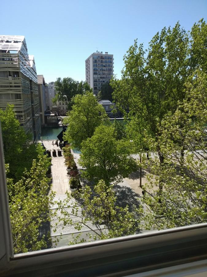 #AMAFENETRE Régis, Paris 19e, 15 avril