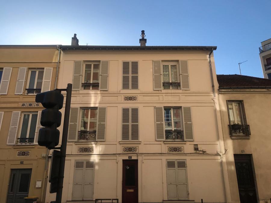 #AMAFENETRE Xavier, Entre 9.4 et 9.3 (Vincennes, Montreuil ), 24 mars