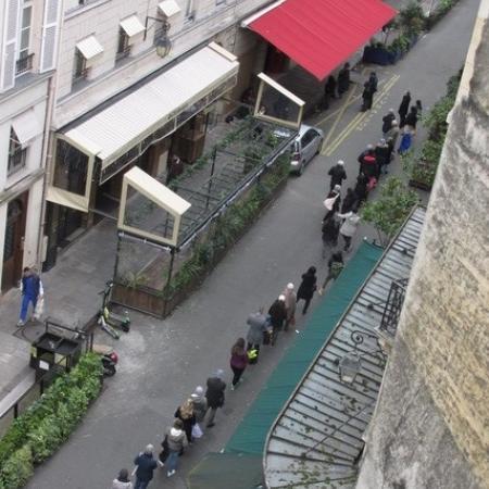 #AMAFENETRE Annie-Claude, Paris 6e, 16 mars