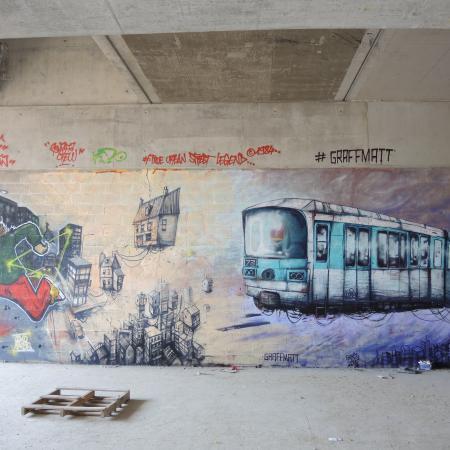 Fresque de GraffMatt