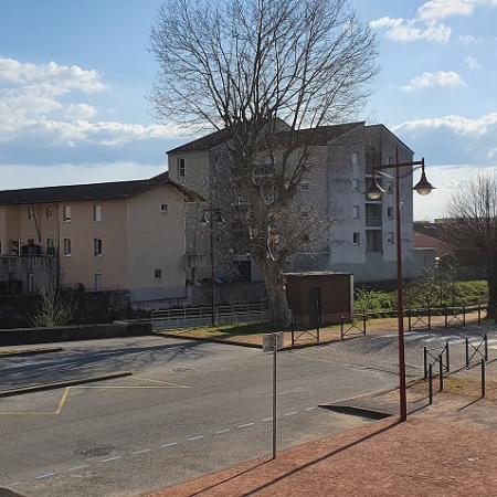 #AMAFENETRE Philippe, Thiers, 26 mars / Vue sur la Durolle