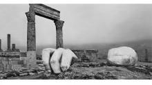 Temple d'Hercule, Amman, Jordanie © Josef Koudelka / Magnum Photos - - © Josef Koudelka / Magnum Photos