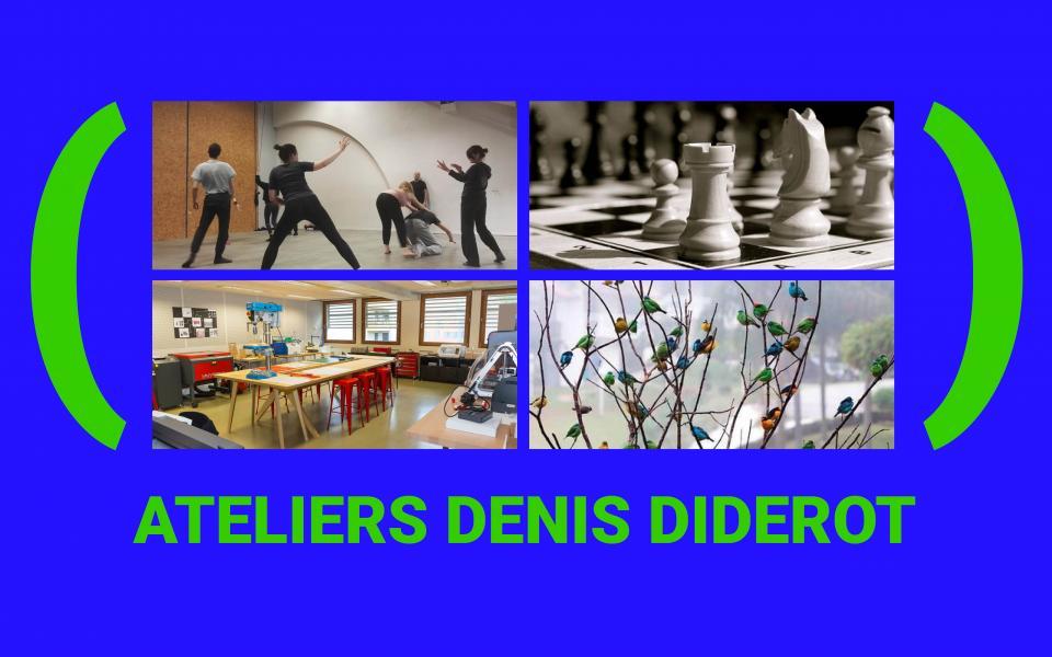 Visuel ateliers denis diderot