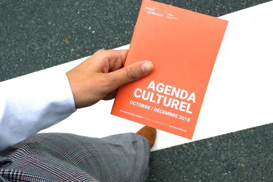 Agenda culturel - octobre/décembre 2018
