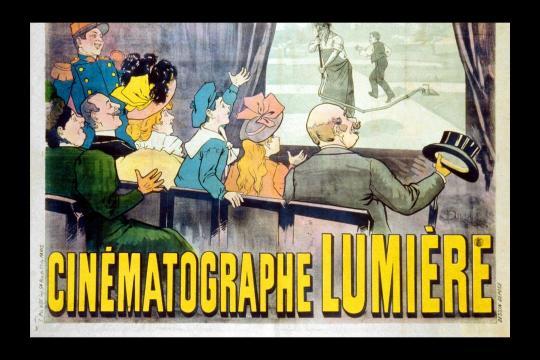 Cinématographe Lumière. M. Auzolle, 1896