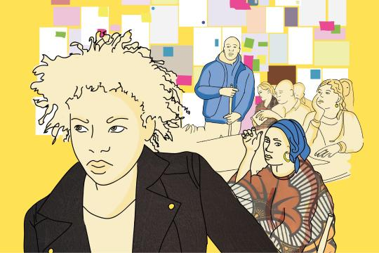 affiche du film Murs de papiers réalisé par Olivier Cousin