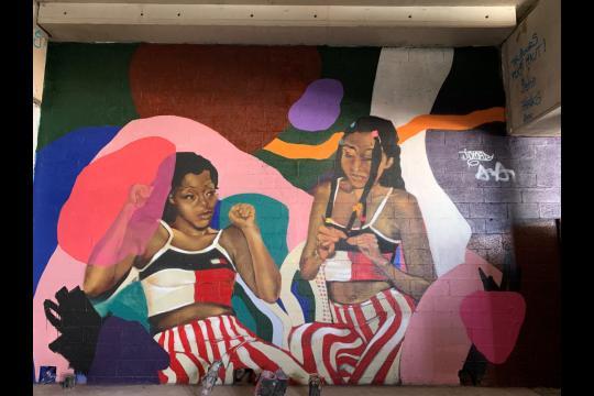 Visite street art Le nouveau visage du quartier Bibliothèque François Mitterrand